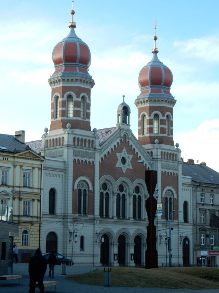 Große Synagoge Pilsen. Ausflug von Prag nach Pilsen.